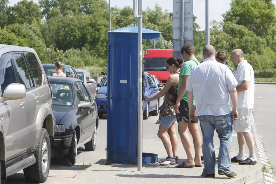 Iš rinkliavos už automobilių stovėjimą uždirbo trečdaliu daugiau