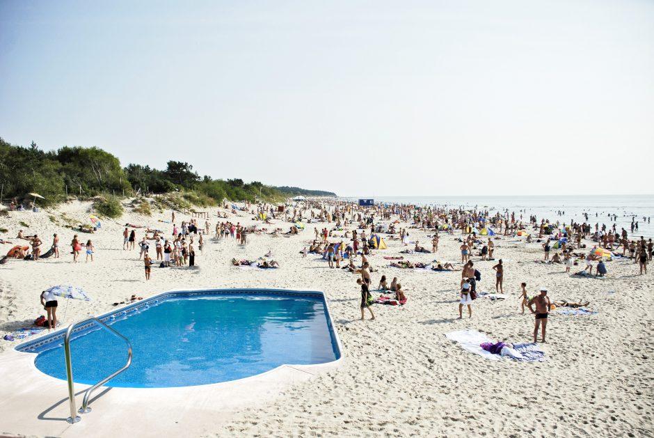 Už ir prieš: baseinams pajūro pliažai – ne vieta?
