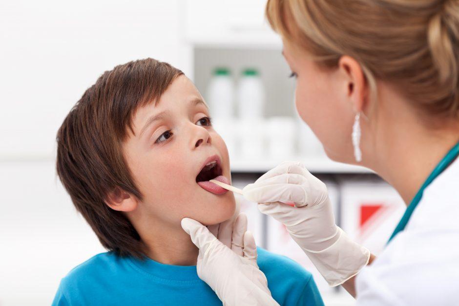 Peršalimo ligos puola vaikus