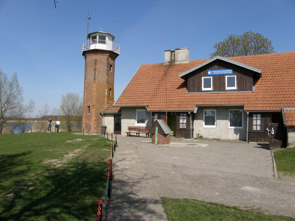Į ralį – apžiūrėti vakarų Lietuvos švyturius