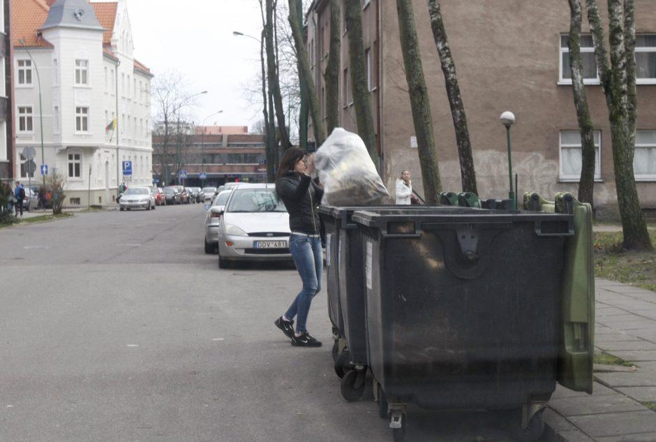 Už atliekų išvežimą – teisingesnė rinkliava
