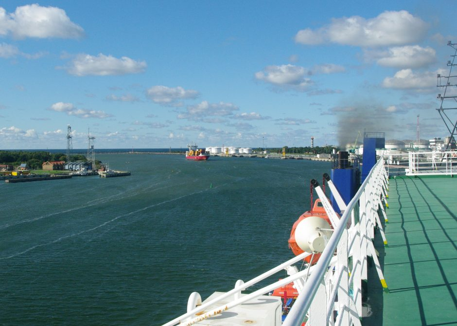 Klaipėdos uostas turi naują svajonę