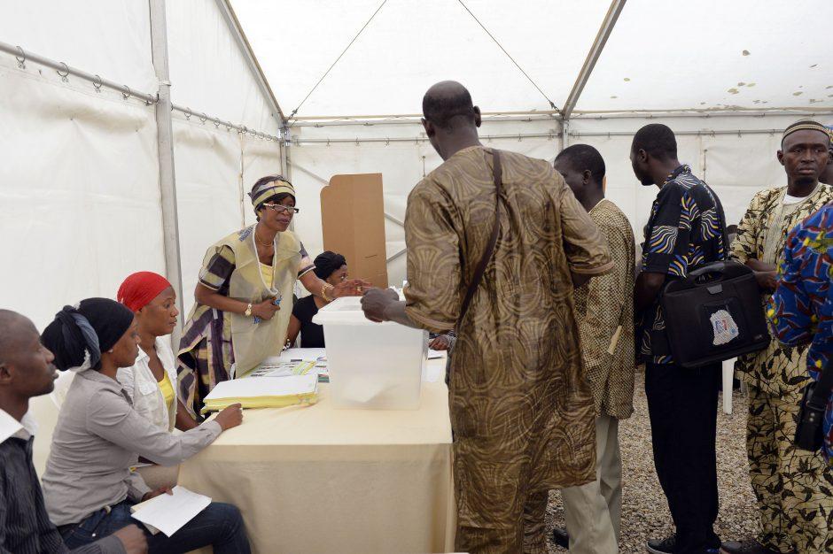 Prezidento rinkimuose Malyje - 27 kandidatai