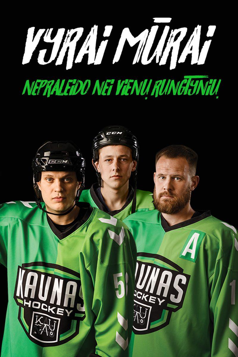 """""""Kaunas Hockey"""": rezultatyviausi, ištvermingiausi ir aršiausi žaidėjai"""