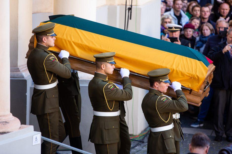 A. Ramanausko-Vanago laidotuvės