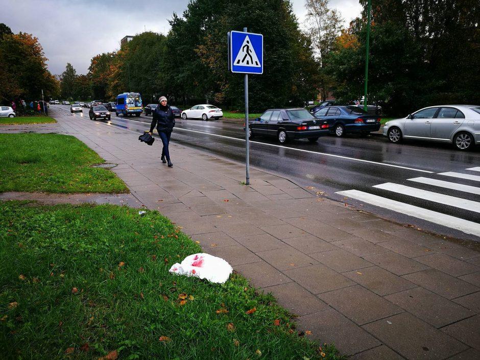 Debreceno gatvėje partrenkė moterį