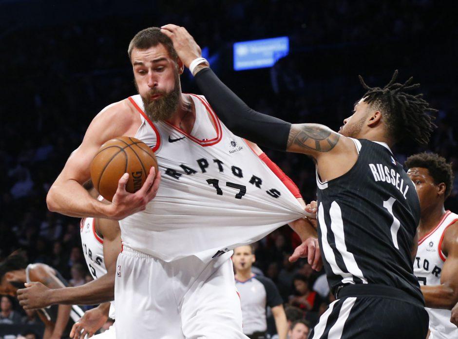 NBA: J. Valančiūno dvigubas dublis ir D. Sabonio trauma