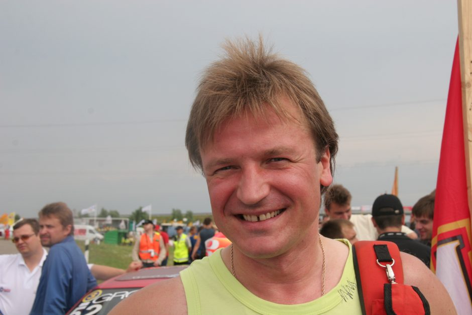 1000 km lenktynėse spindėjo ir V. Šapranausko talentas