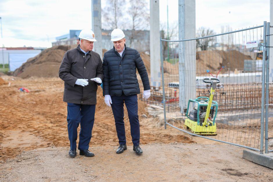"""""""Švaros broliai"""" pradėjo naujos tunelinės plovyklos statybas Klaipėdoje"""