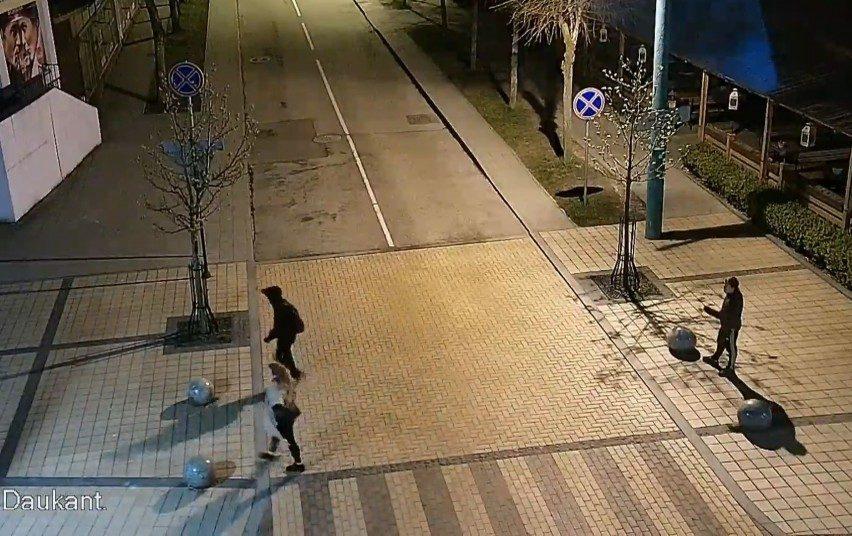 Policija prašo atpažinti vaizdo įraše užfiksuotus asmenis