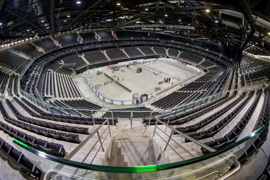 Rusijos milijardierius statys didžiausią pasaulyje ledo ritulio areną