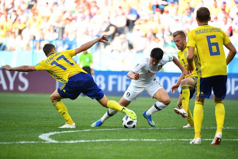 Pasaulio čempionatas: Švedija startavo pergalingai