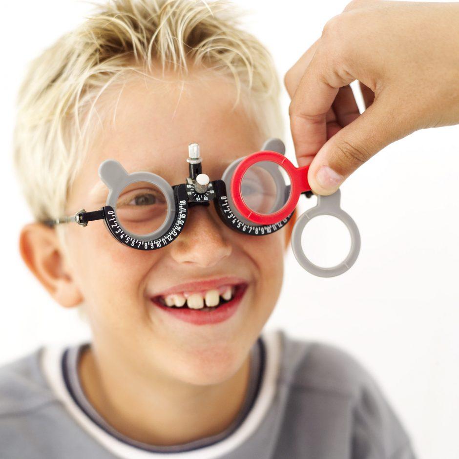 Pas vaikų akių gydytoją pasiūlė ateiti kitąmet