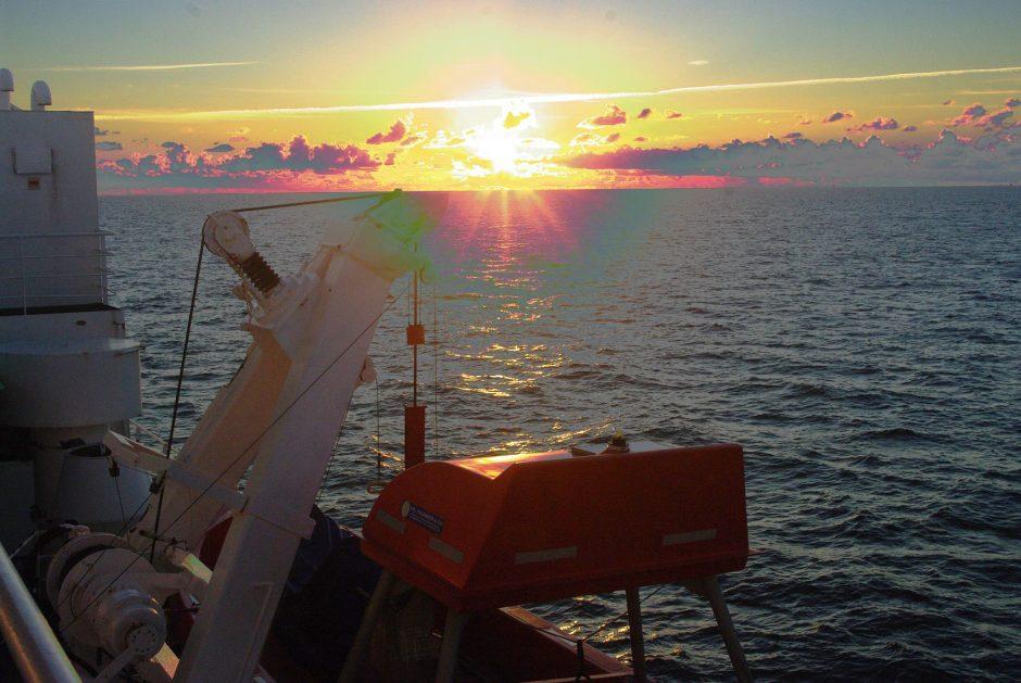 Plačiai vertins Baltijos jūros aplinką