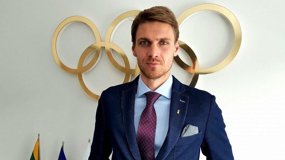 Lietuvos olimpiniam fondui vadovaus M. Marcinkevičius