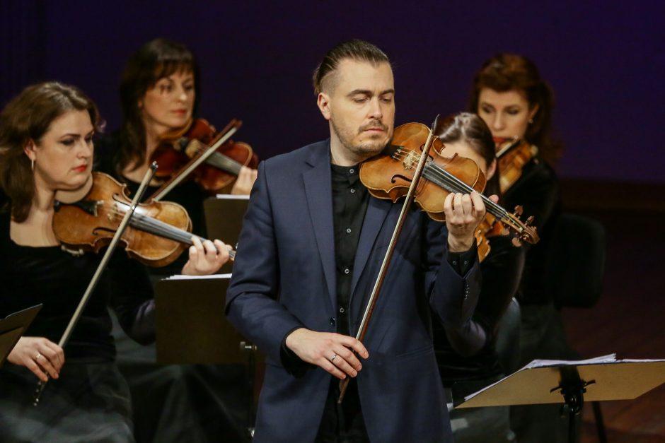 Klaipėdos koncertų salėje – D. Sinkovskis