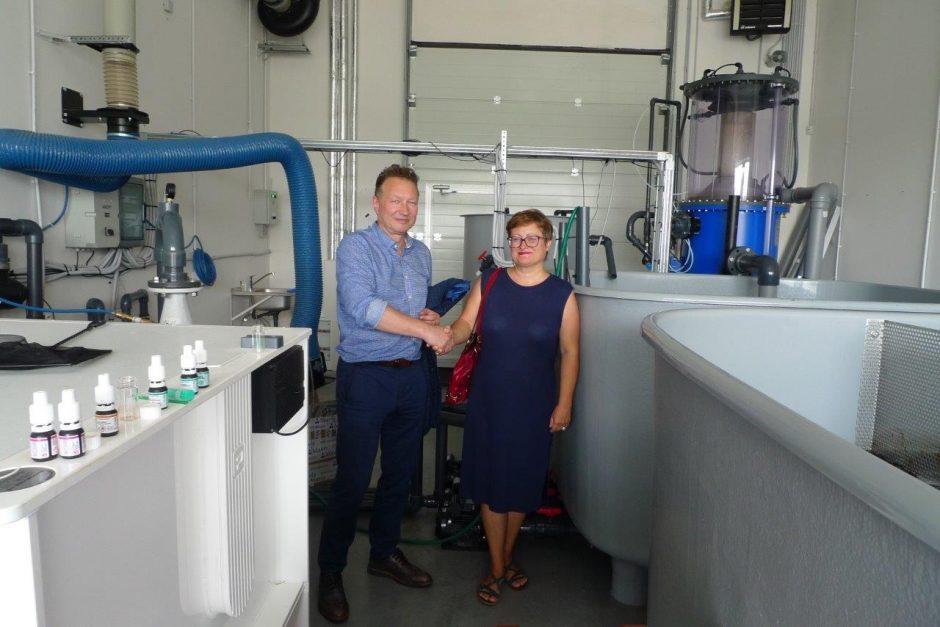 Klaipėdoje įsteigtas Akvakultūros kompetencijų centras
