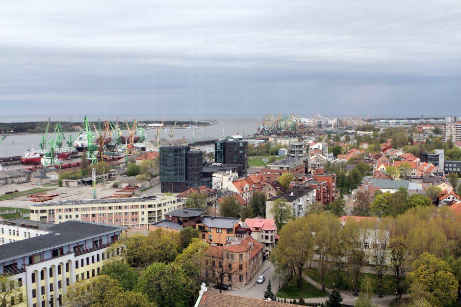 Skauda širdį dėl Klaipėdos