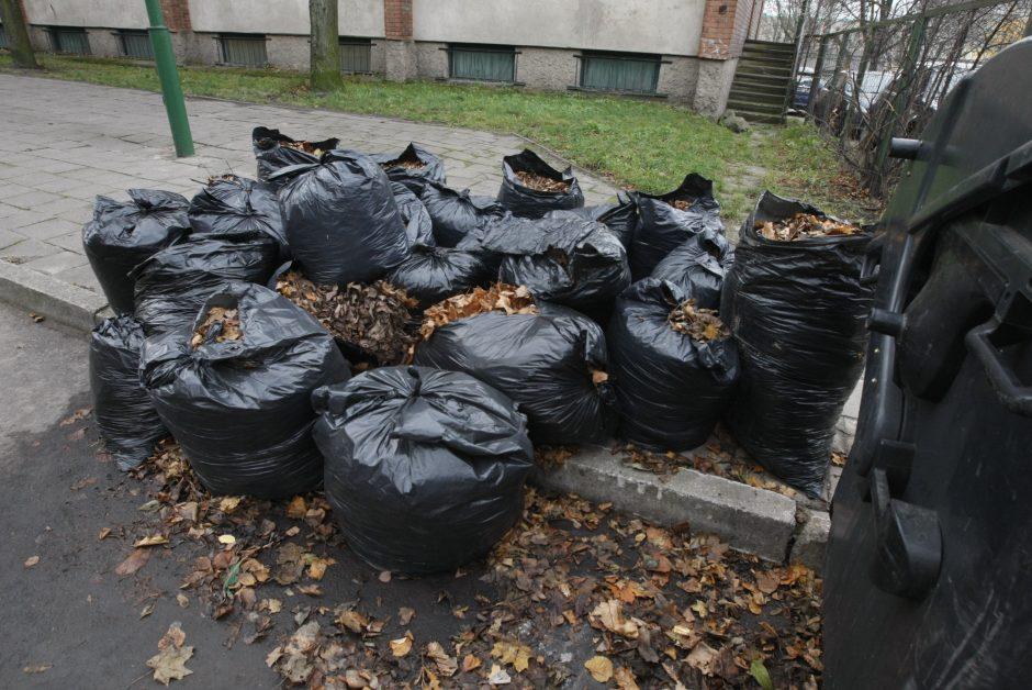 Neteisingai tvarkomos atliekos kauniečiams gali užtraukti baudą