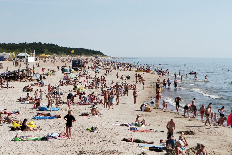 Pajūrio pliažuose daugės vaizdo kamerų