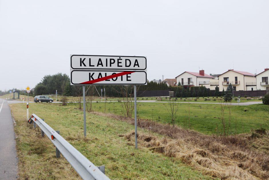 Miestas sieks rajono žemių