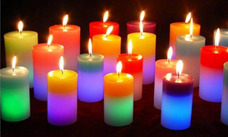 Laišką parašė... žvakės