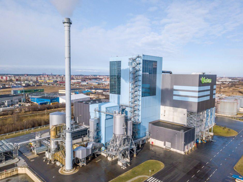 Iš atliekų – šiluma ir elektros energija