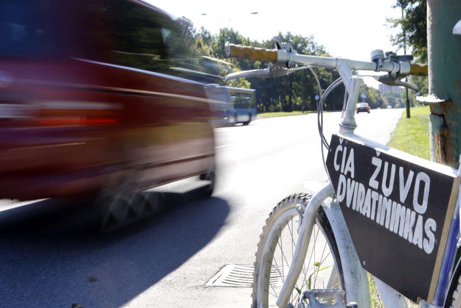 Dviračių takuose tvyro chaosas: sužalojami pėstieji, nukenčia ir dviratininkai