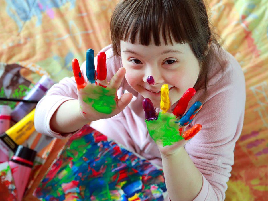 Neįgalus vaikas tarp sveikųjų – kad tėvams būtų geriau?