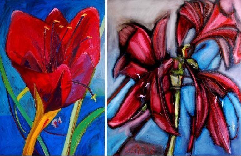 """S. Žaltausko tapybos paroda """"Amarilis"""" – su meile ir viltimi"""