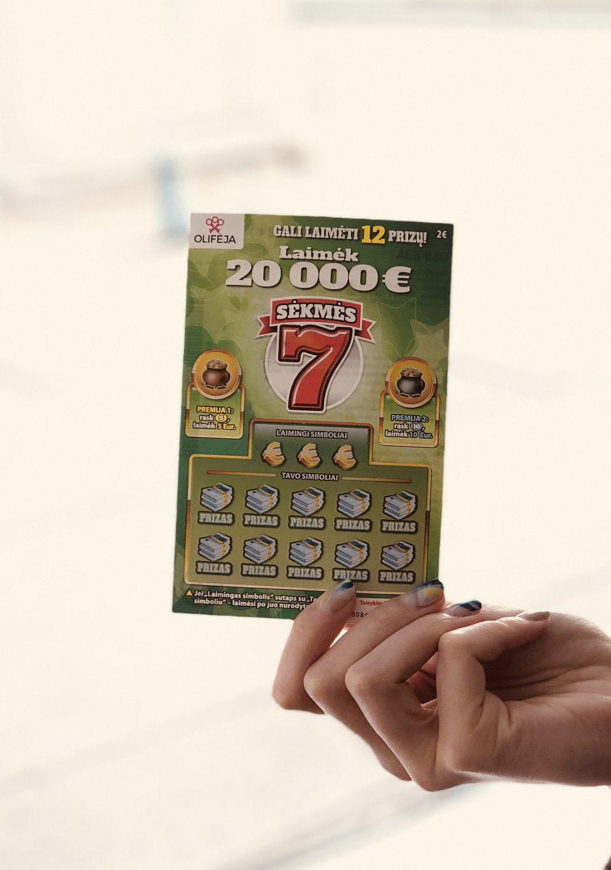 Artėjančių Velykų proga laimėjo 20 000 Eur