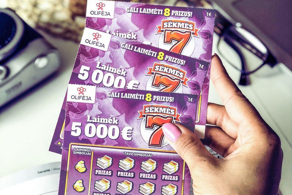 Šveicarijos lietuvės atostogos gimtinėje atnešė laimėjimą loterijoje