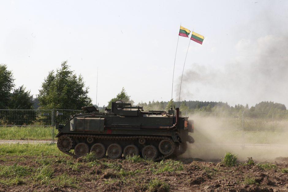 Tankodromo atidaryme - ekstremalios pramogos