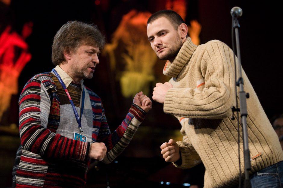 Trečiadienį Vilniuje ypatingas tėvo ir sūnaus G.ir A.Storpirščių koncertas