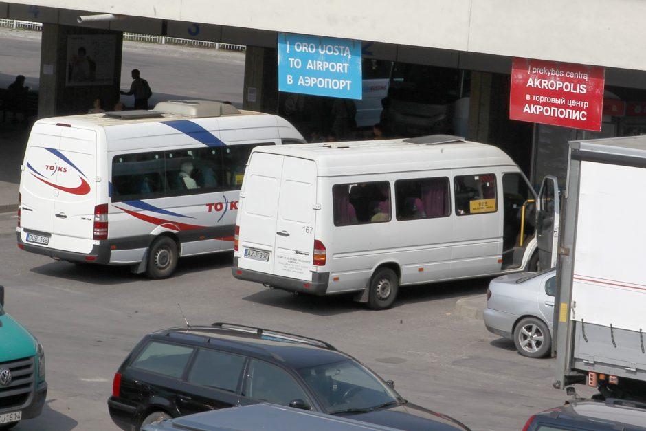 Mikroautobusai tebevažinėja Vilniuje?