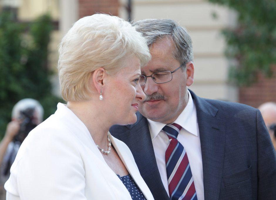 Prezidentė išvyksta minėti Lenkijos nepriklausomybės dieną