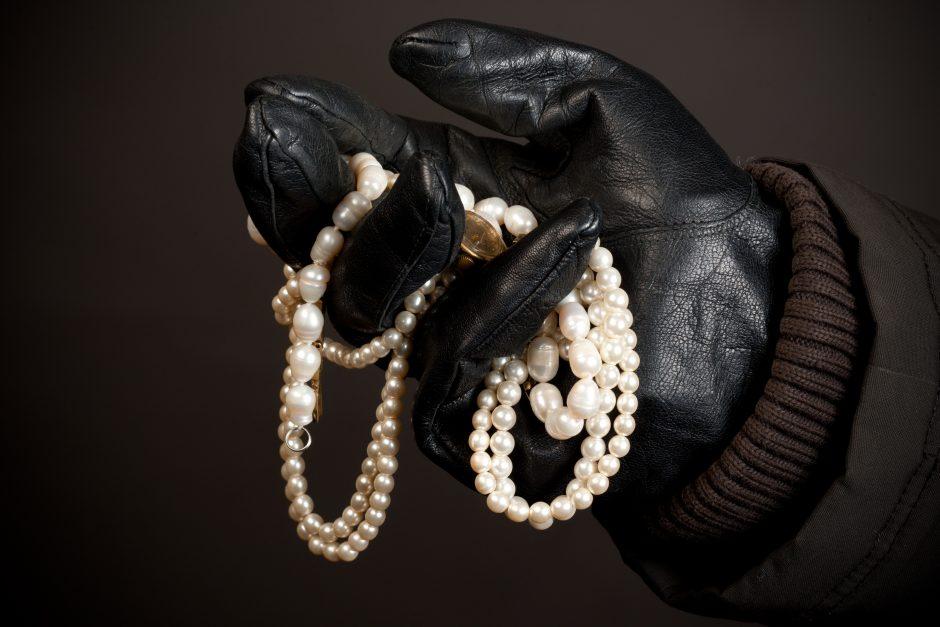 Vilniuje iš namo pavogti juvelyriniai papuošalai ir 20 tūkst. litų