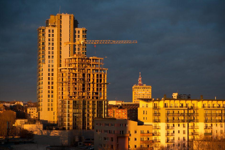 Vilniuje per trečiąjį metų ketvirtį parduota rekordiškai daug butų
