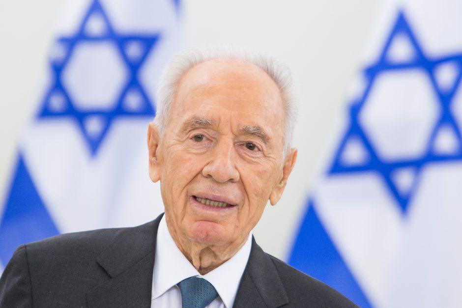 Izraelio prezidentas: taikai Artimuosiuose Rytuose nėra alternatyvos (papildyta)