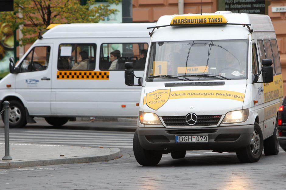 Vilniuje darbą nuo ketvirtadienio pradės privatūs vežėjai
