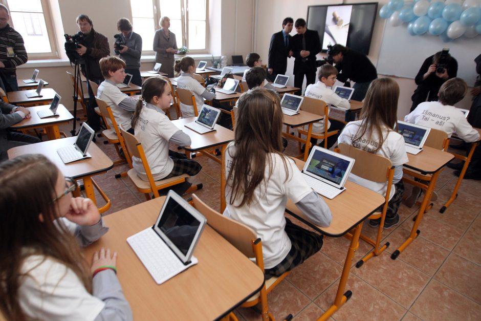 Klaipėdos mokykloms – išmaniosios klasės