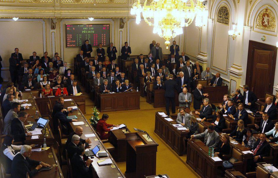 Čekijos prezidentas rugsėjo 28-ąją paleis parlamentą