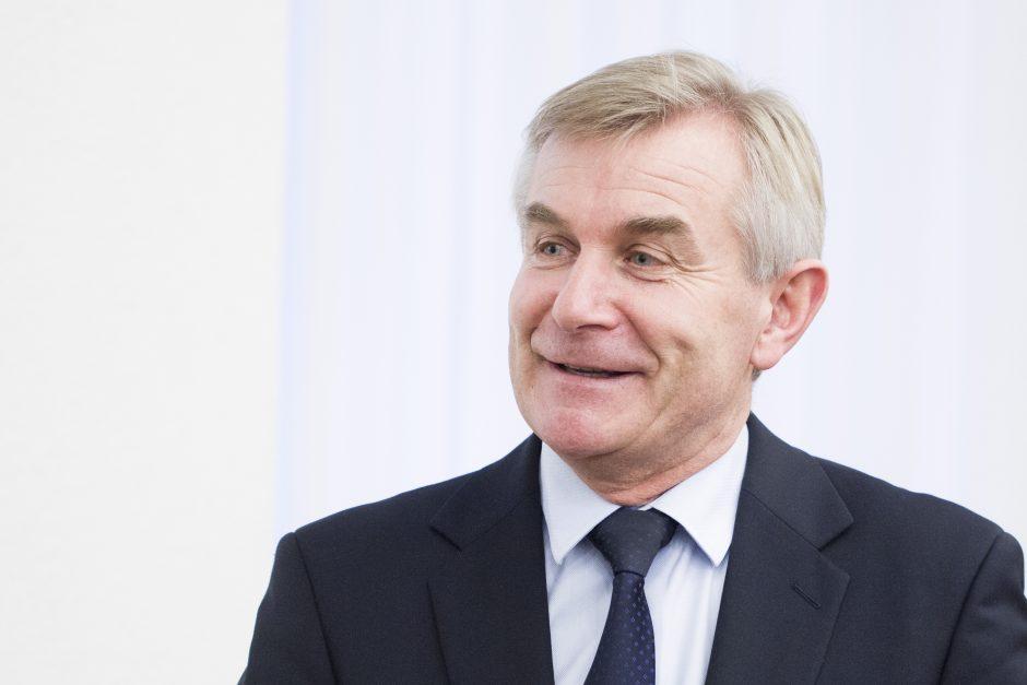V. Pranckietis apie S. Skvernelio sprendimą: naujiena ir netikėta, ir laukta