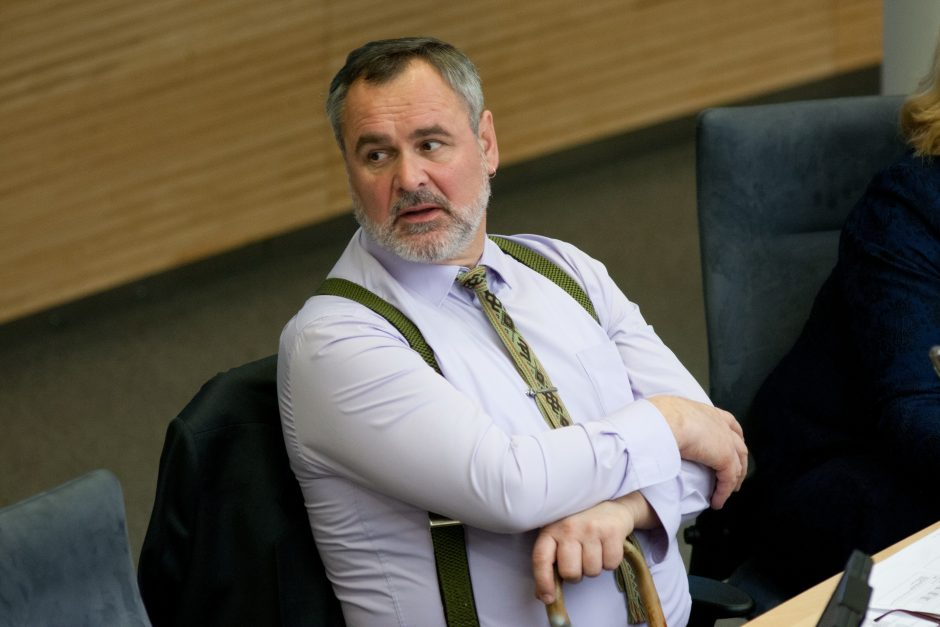 Vilniaus savivaldybė iš socialdemokrato E. Šablinsko reikalauja 700 tūkst. litų