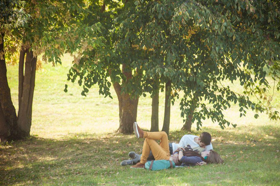 Sinoptikai: likusi savaitė lepins malonia vasariška šiluma