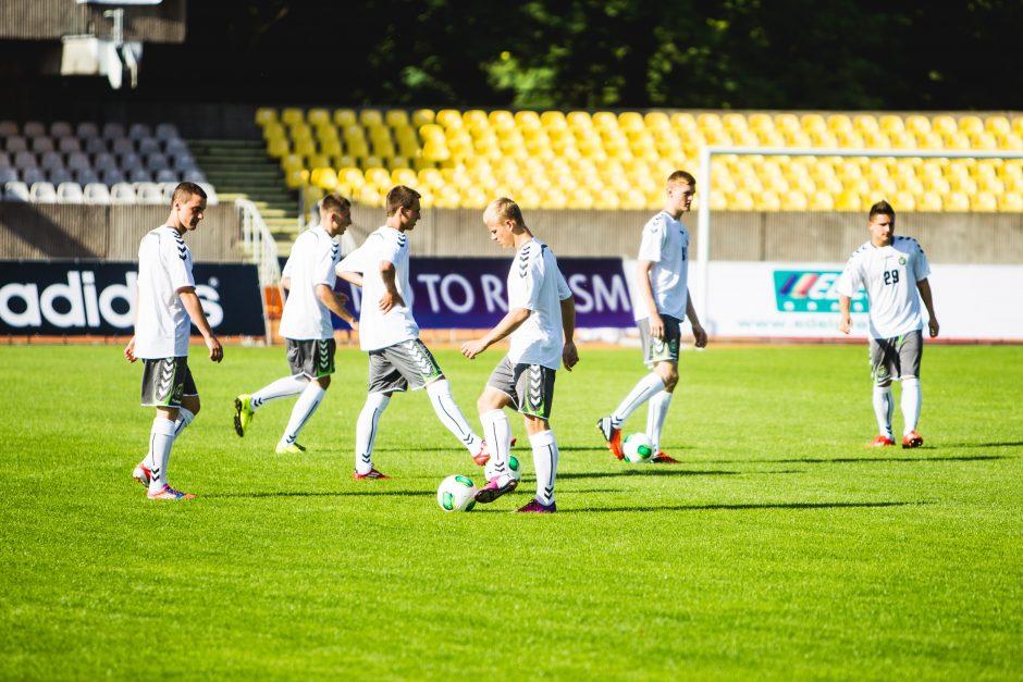 Lietuvos jaunieji futbolininkai tiki stebuklu