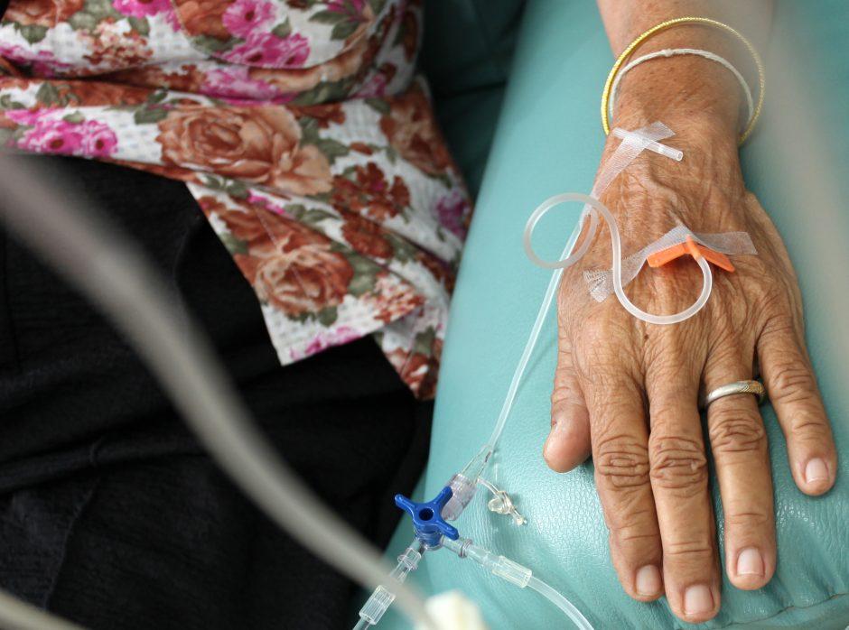 Medikės patarimas vėžiu sergantiems ligoniams: reikia norėti gyventi