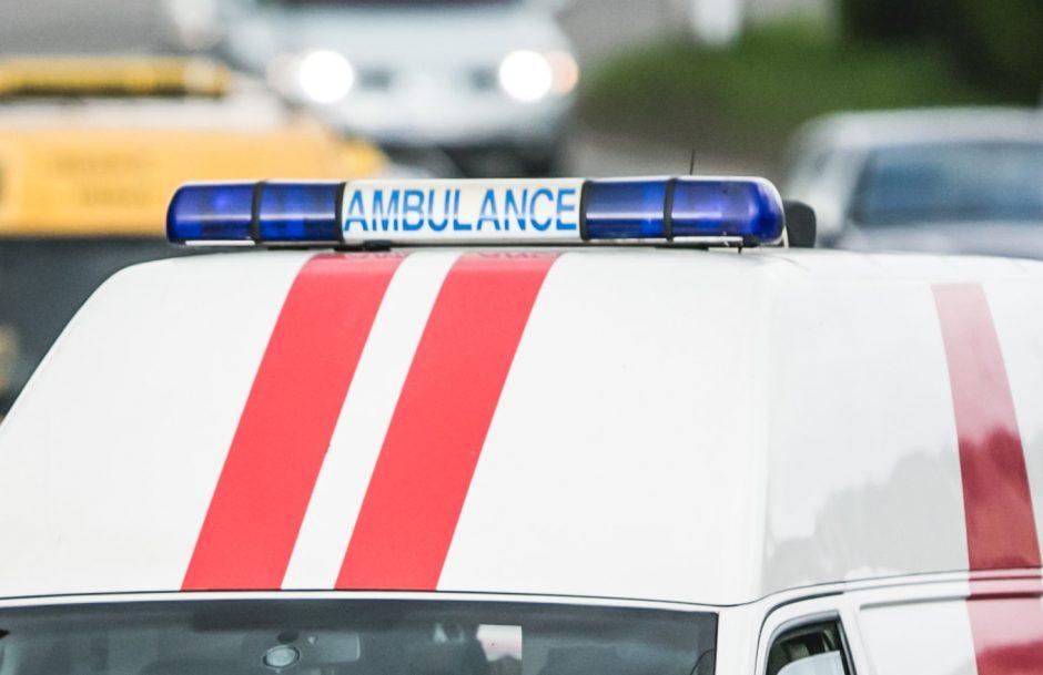 Prie Klaipėdos per avariją sužaloti du žmonės