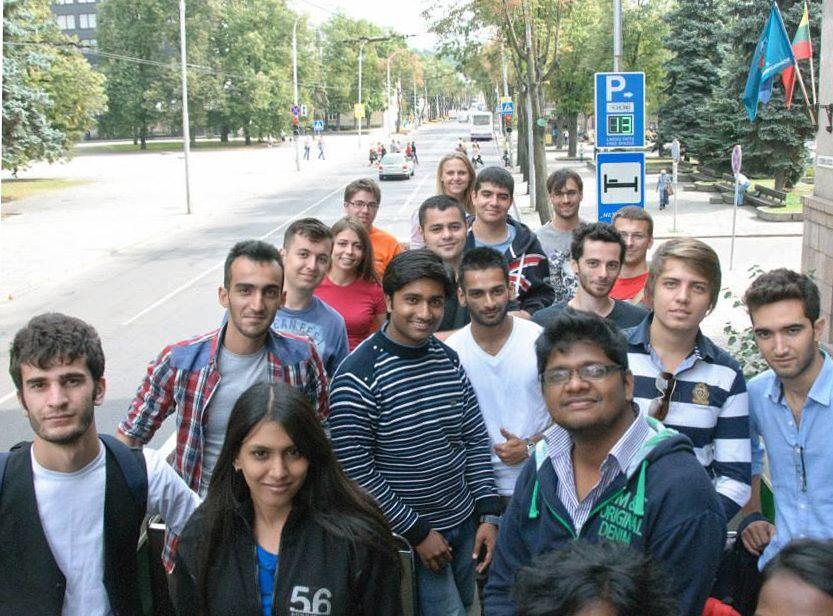 KTU šiemet mokysis studentai iš daugiau nei 40 šalių