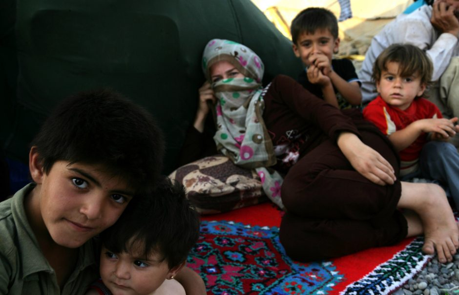 Konflikto draskomą Siriją palikusių vaikų skaičius pasiekė milijoną